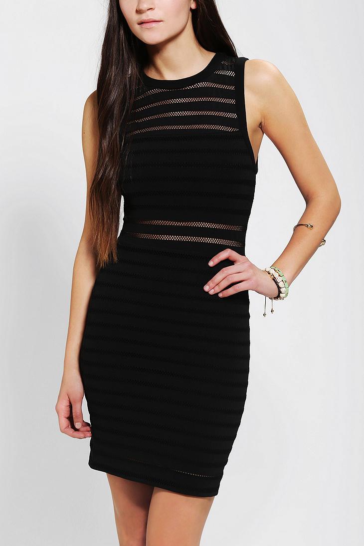 Black dress urban outfitters surplus