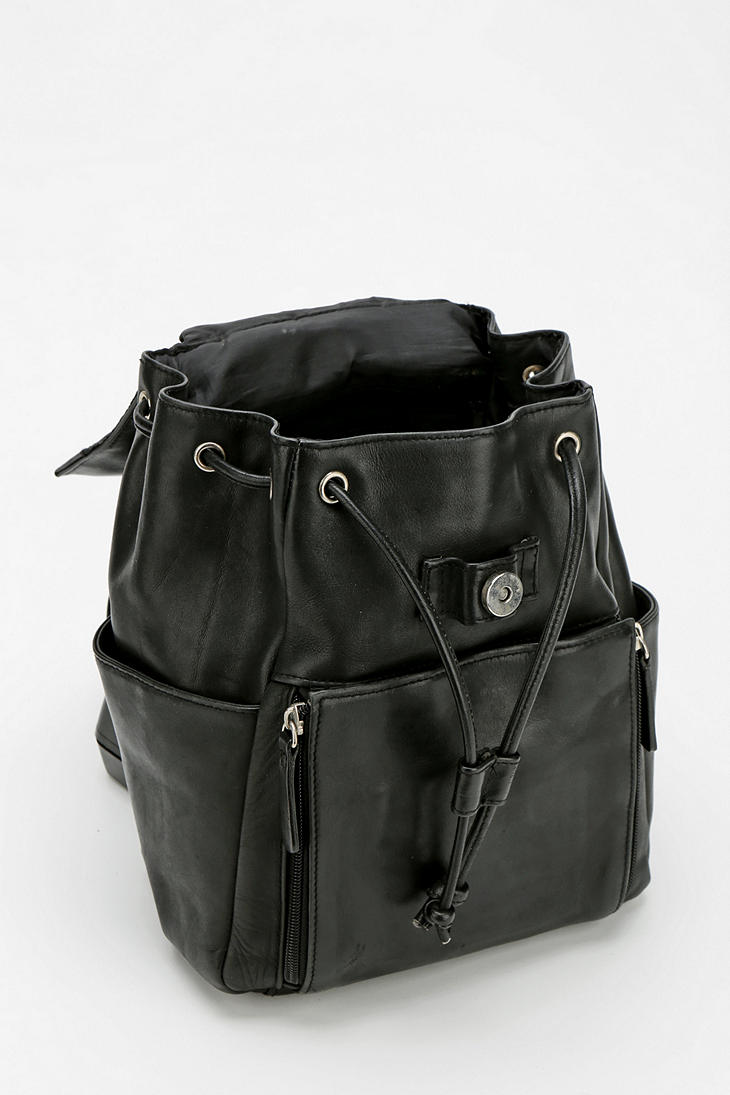 03d22694de Lyst - Urban Outfitters Urban Renewal Vintage Small Leather Backpack ...