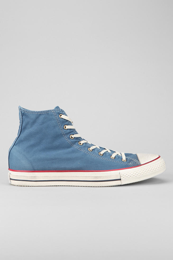 ced70ad594c4 Lyst - Urban Outfitters Converse Chuck Taylor All Star Washed Mens ...