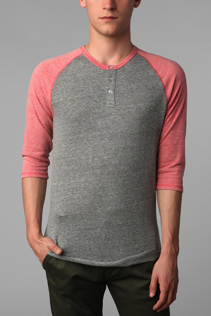 Henley Shirt Men