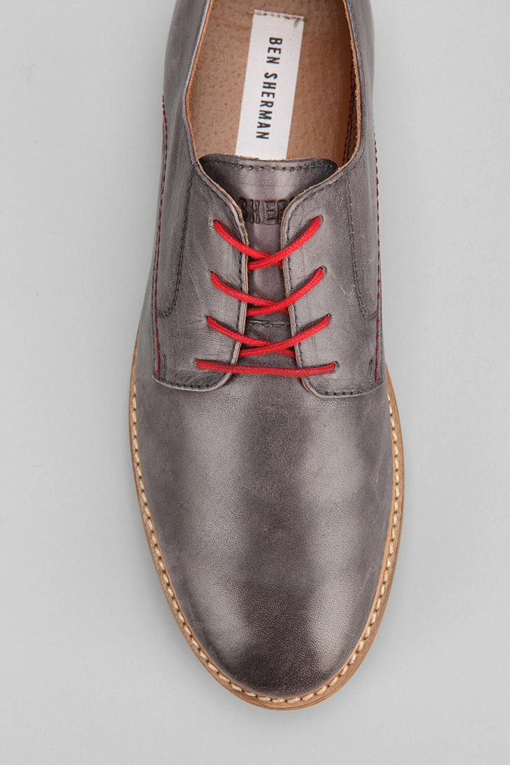 d0bbe1537e118 Urban Outfitters Ben Sherman Mayfair Oxford Shoe in Gray for Men - Lyst