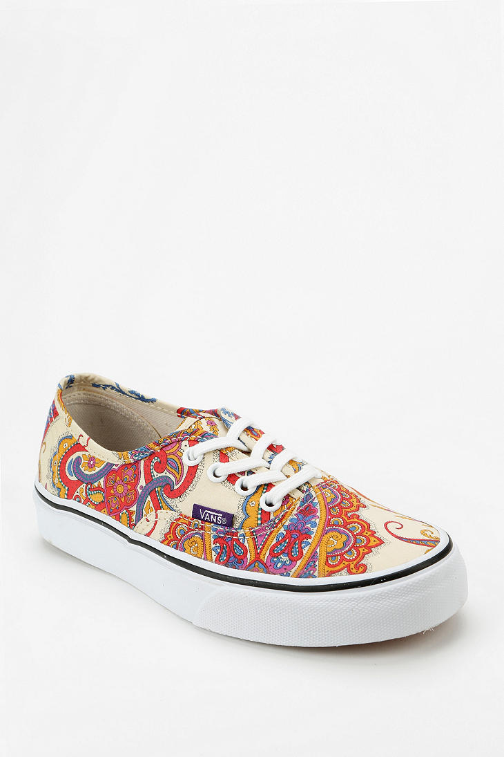 881cdb27dbba1a Lyst - Urban Outfitters Vans X Liberty London Authentic Paisley ...