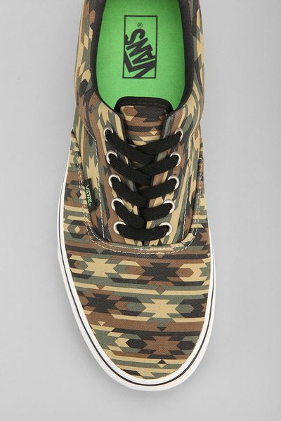Urban Outfitters Vans Era 59 Camo Mens Sneaker In Green