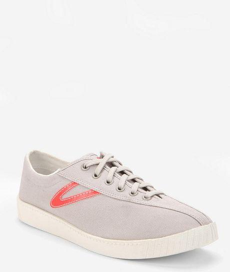 tretorn tretorn nylite canvas sneaker in gray for