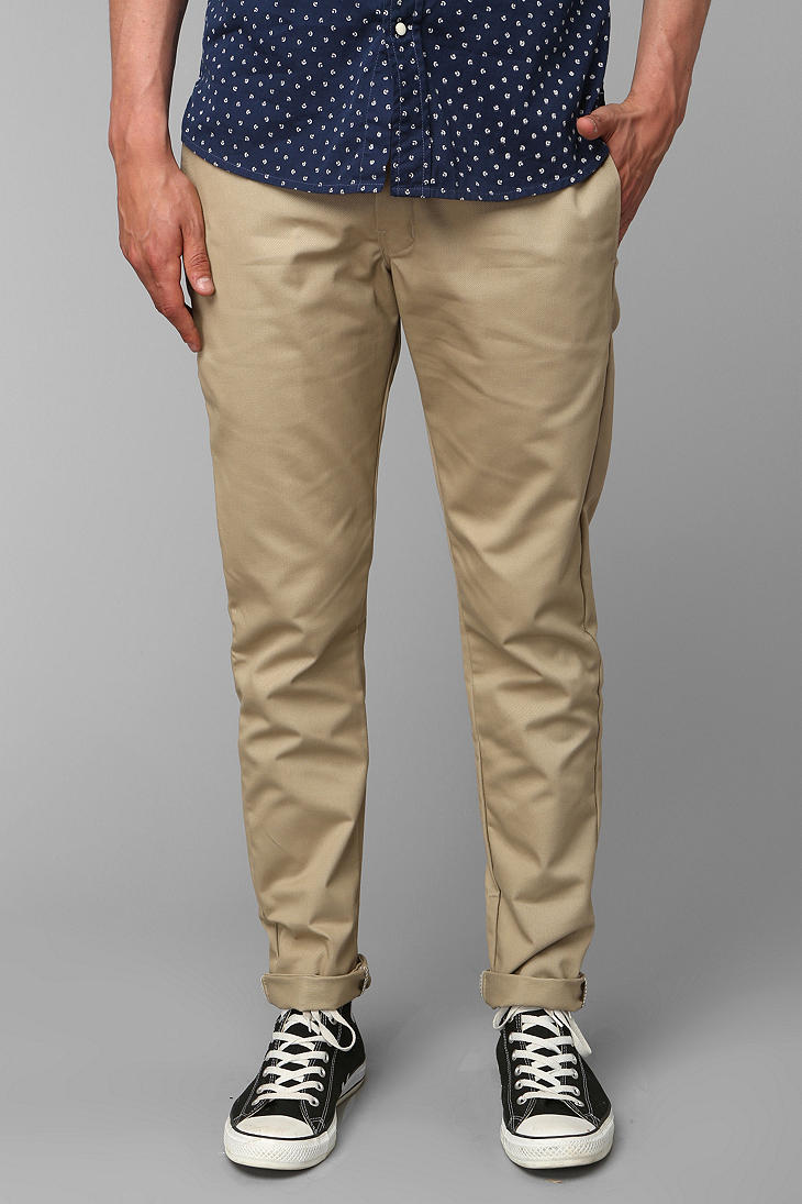 da720bc8cef Lyst - Dickies Skinny Straight Work Pant in Natural for Men