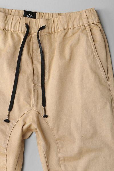New KHAKI SCRUBS Pants Tan Bottoms Best Convict Costume JAIL Or PRISON