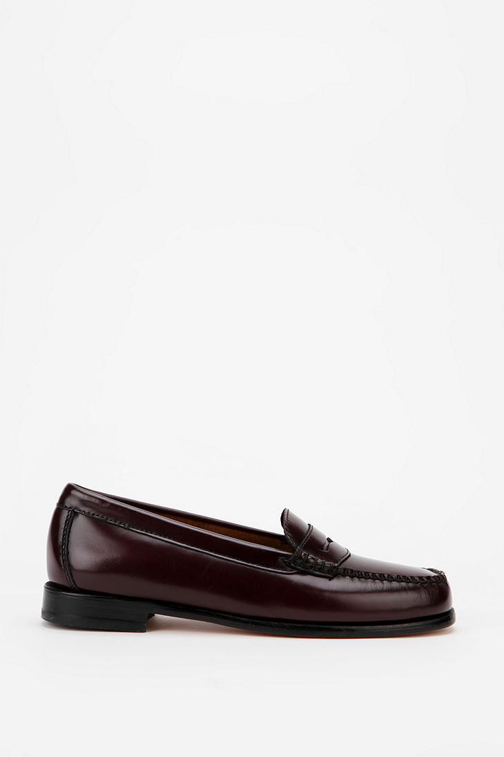 e6edc6075fc Lyst - Urban Outfitters Bass Wayfarer Penny Loafer in Red