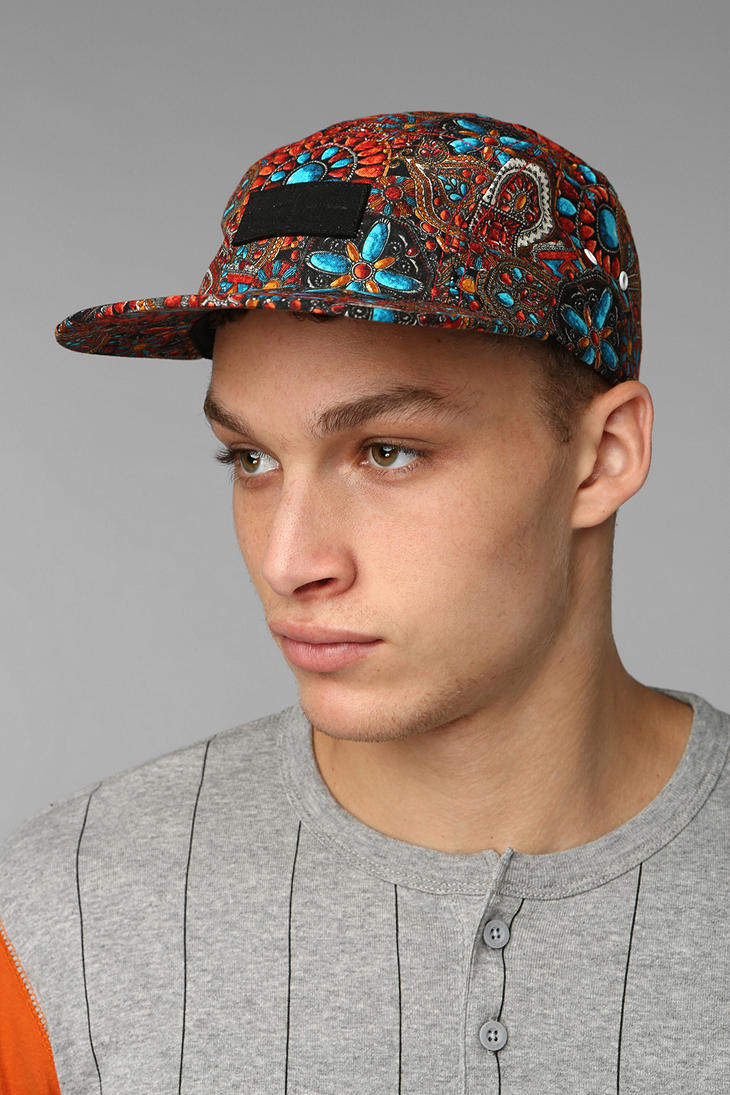 Lyst - Urban Outfitters Publish Perris 5panel Hat for Men 83ff52b3f04
