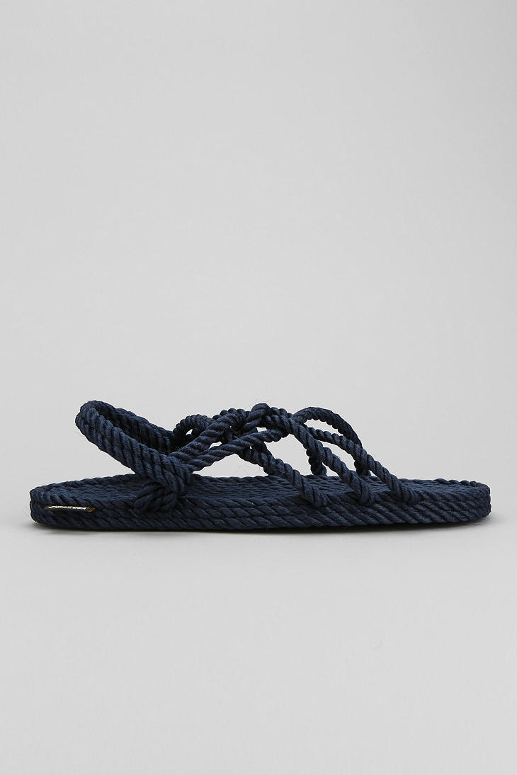 3a31865b0 Lyst - Urban Outfitters Burkman Bros X Gurkees Neptune Rope Sandal ...