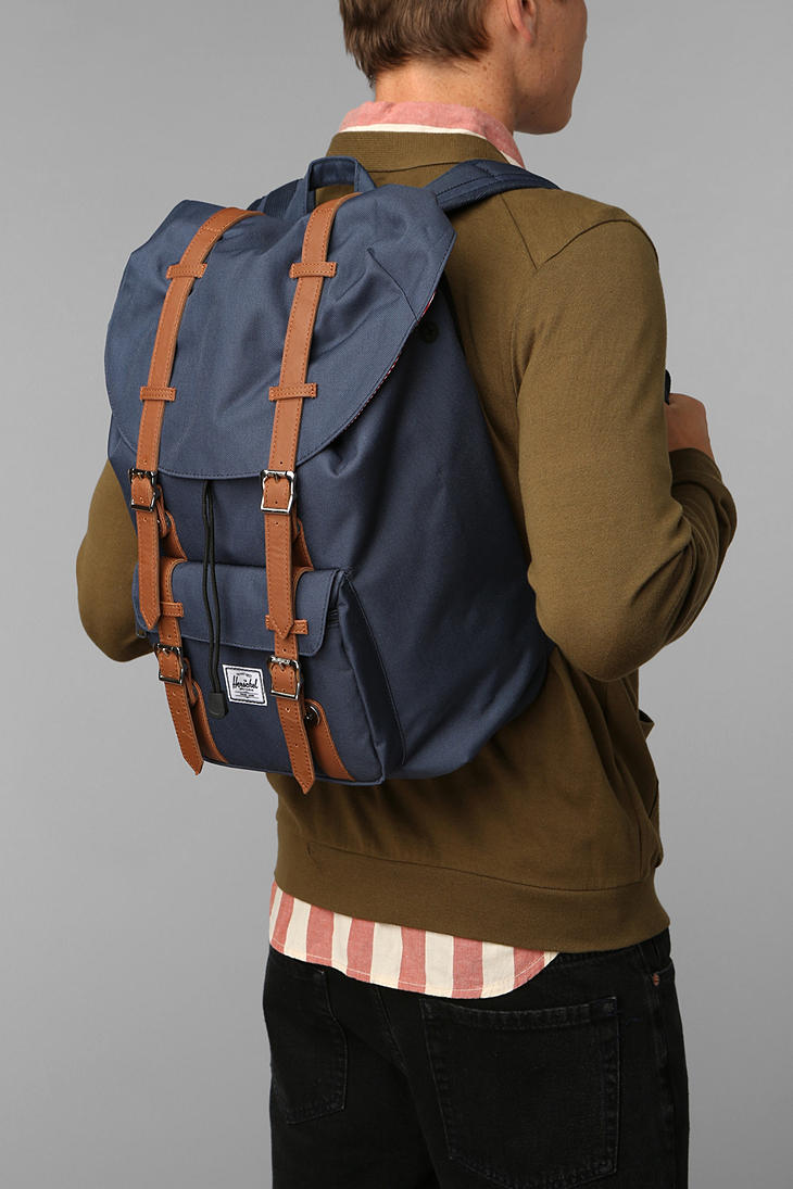 Lyst - Herschel Supply Co. Retreat Backpack in Blue 2894857fa0