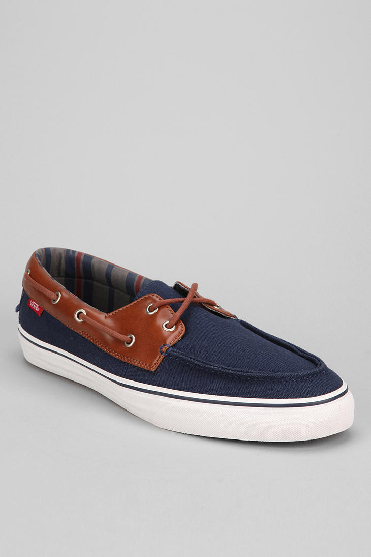In Urban Blue Sneaker Vans Zapato Barco Lyst Del Outfitters Mens fZvwqq8O6