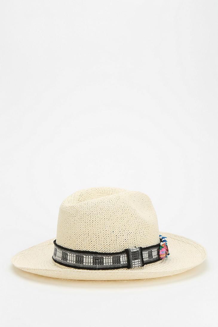 Lyst - Urban Outfitters Valdez Otavalo Widebrim Panama Hat in ... b15f875b3717