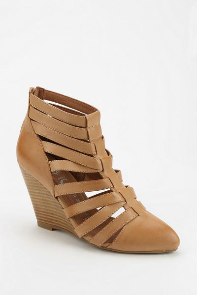 Urban Outfitters Jeffrey Campbell Vector Caged Wedge