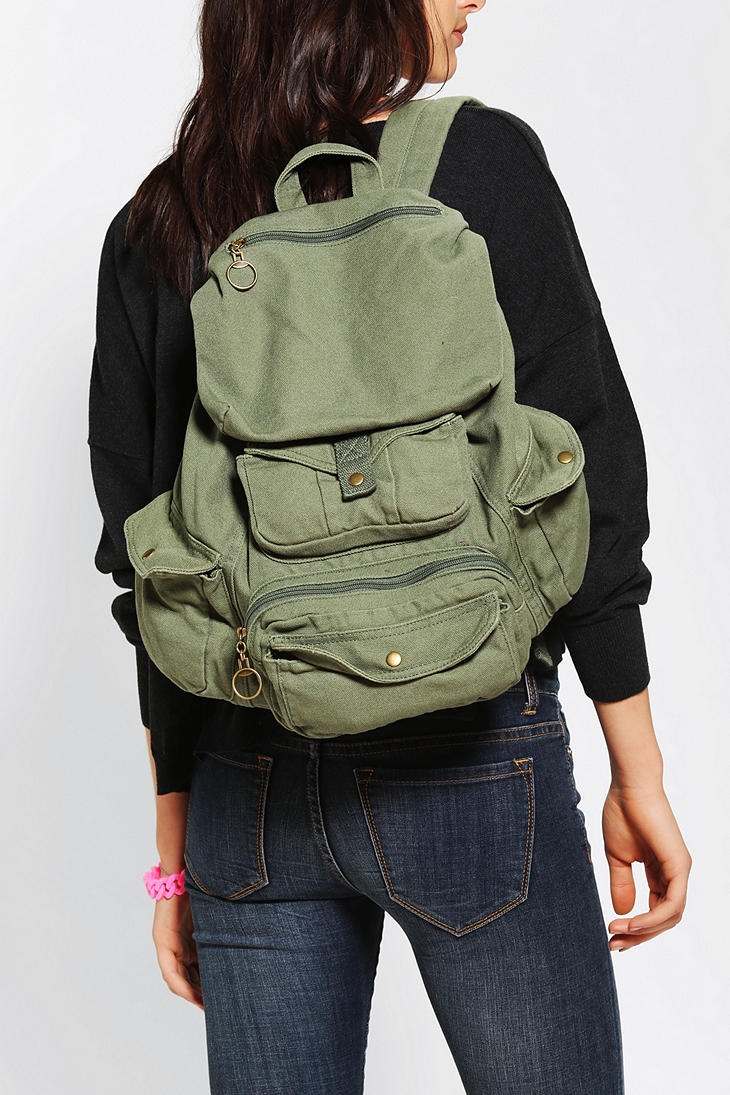 46c0c3b0e79e Army Green Backpack Urban Outfitters- Fenix Toulouse Handball