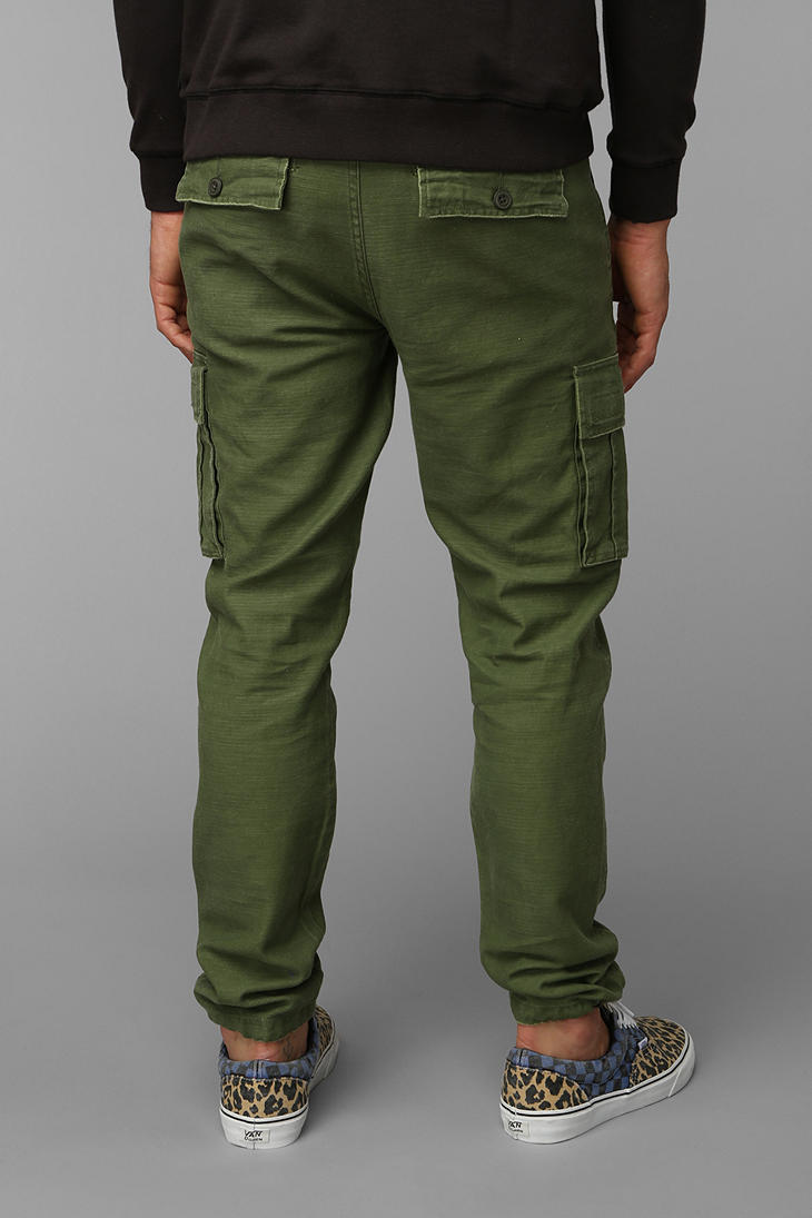 Urban outfitters Koto Cinched Cargo Pants in Green for Men | Lyst