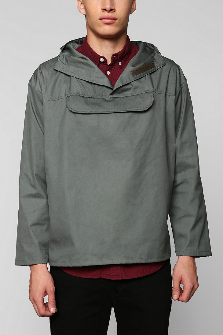 Urban outfitters Urban Renewal Surplus Pullover Jacket in Green ...