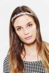 Urban Outfitters Princess Headwrap - Lyst