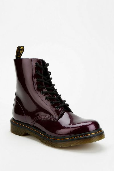Urban Outfitters Dr Martens Pascal Metallic Patent Leather