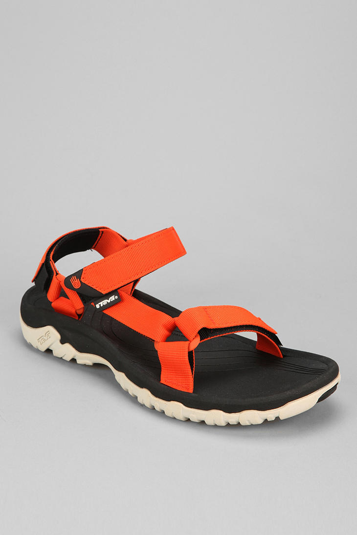 Urban Outfitters Teva Hurricane Xlt Sandal In Orange For