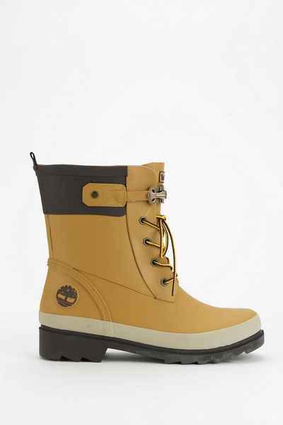 Urban Outfitters Timberland Wellington Laceup Rain Boot In