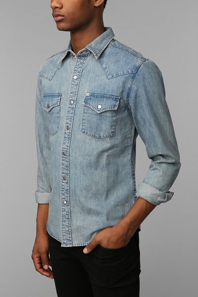 Mens Gingham Shirt