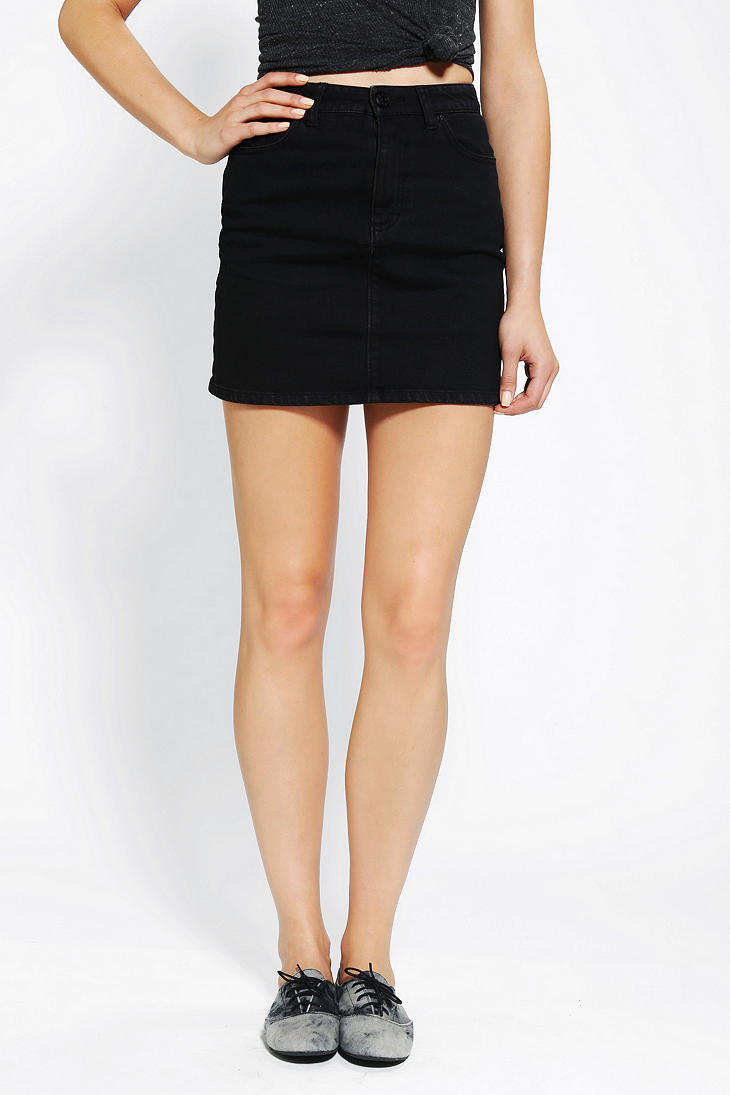 e6568ddf5c Bdg Black Denim Pencil Skirt – DACC