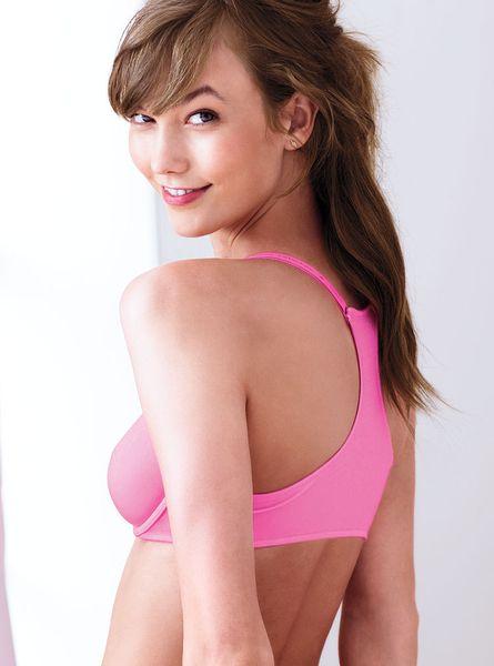 Victoria's Secret Unlined Racerback Bra in Pink (timeless ... - photo#27