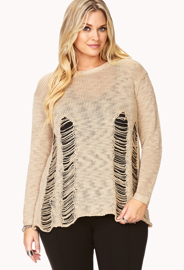 Widow Self-Destruct Shredded Sweater   Shop Clothes at Nasty Gal!