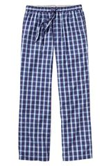 Gap Blue Plaid Pj Bottoms - Lyst