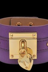 Juicy Couture Lock Cuff - Lyst