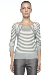 Marc By Marc Jacobs Jed Striped Knit Sweater - Lyst