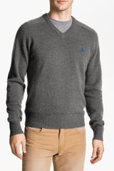 Original Penguin V-Neck Lambswool Sweater - Lyst