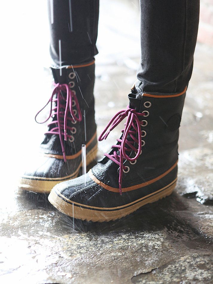 Sorel 1964 Premium Canvas Boots In Black Lyst