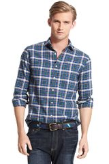 Tommy Hilfiger New York Fit Check Shirt - Lyst