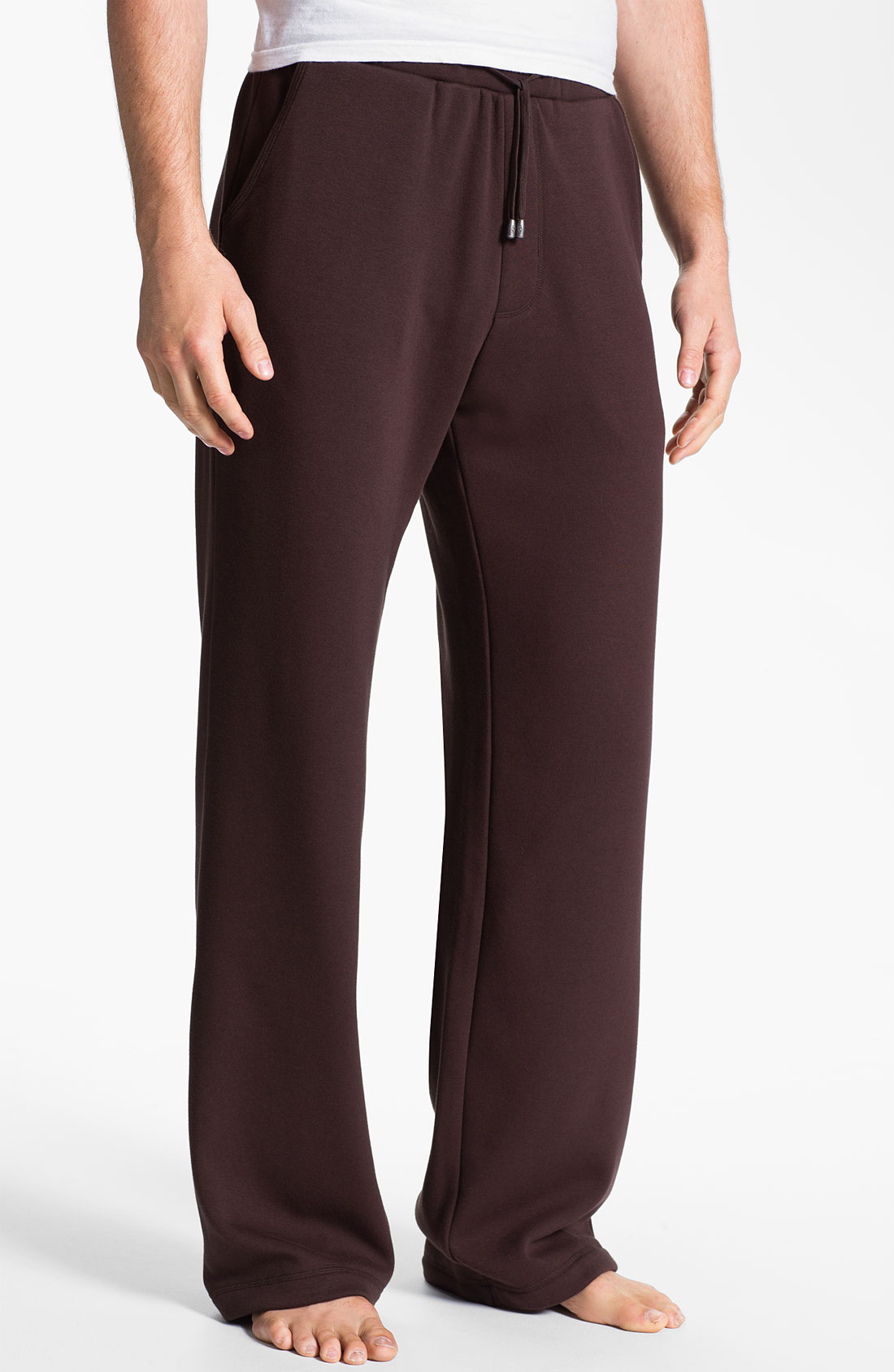 Ugg Colton Lounge Pants In Brown For Men Stout Lyst