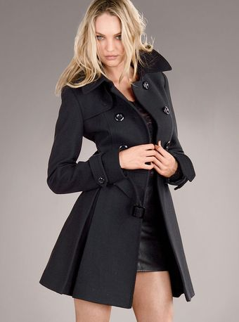 Victoria's Secret The Wool Trench Coat - Lyst