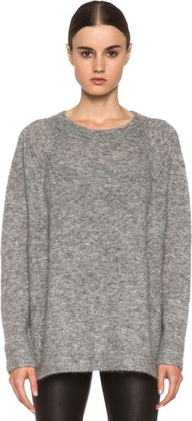 Acne Rue Mohair Sweater - Lyst