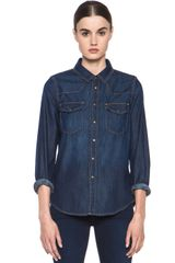 Current/Elliott The Western Shirt - Lyst