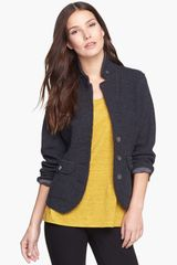 Eileen Fisher Felted Wool Jacket - Lyst