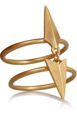 Maria Black Darling Goldplated Ring - Lyst