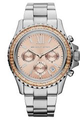 Michael Kors Everest Stainless Steel Chronograph Watch - Lyst