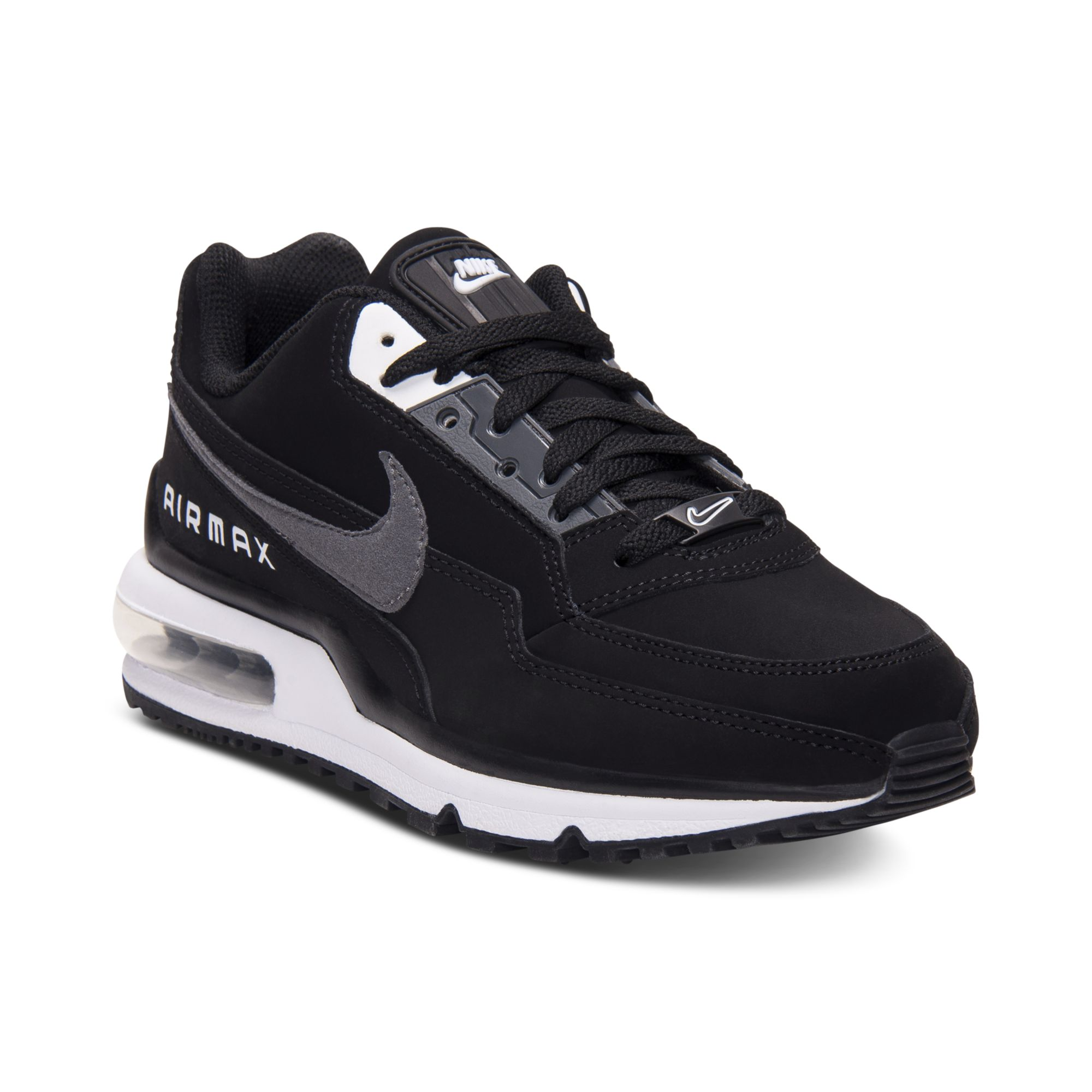 newest 3eca7 1e7f4 norway lyst nike air max ltd running sneakers in black for men ecf36 75b43