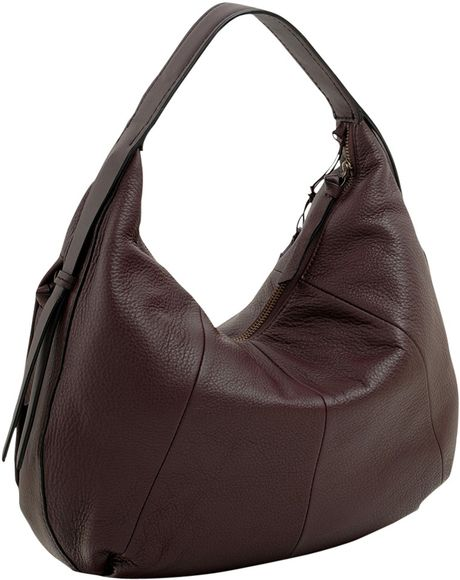 Radley Lisburn Large Hobo Shoulder Handbag in Purple