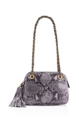 Tory Burch Thea Snake Crossbody Chain Bag - Lyst