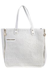 Ermanno Ermanno Scervino Medium Fabric Bag - Lyst