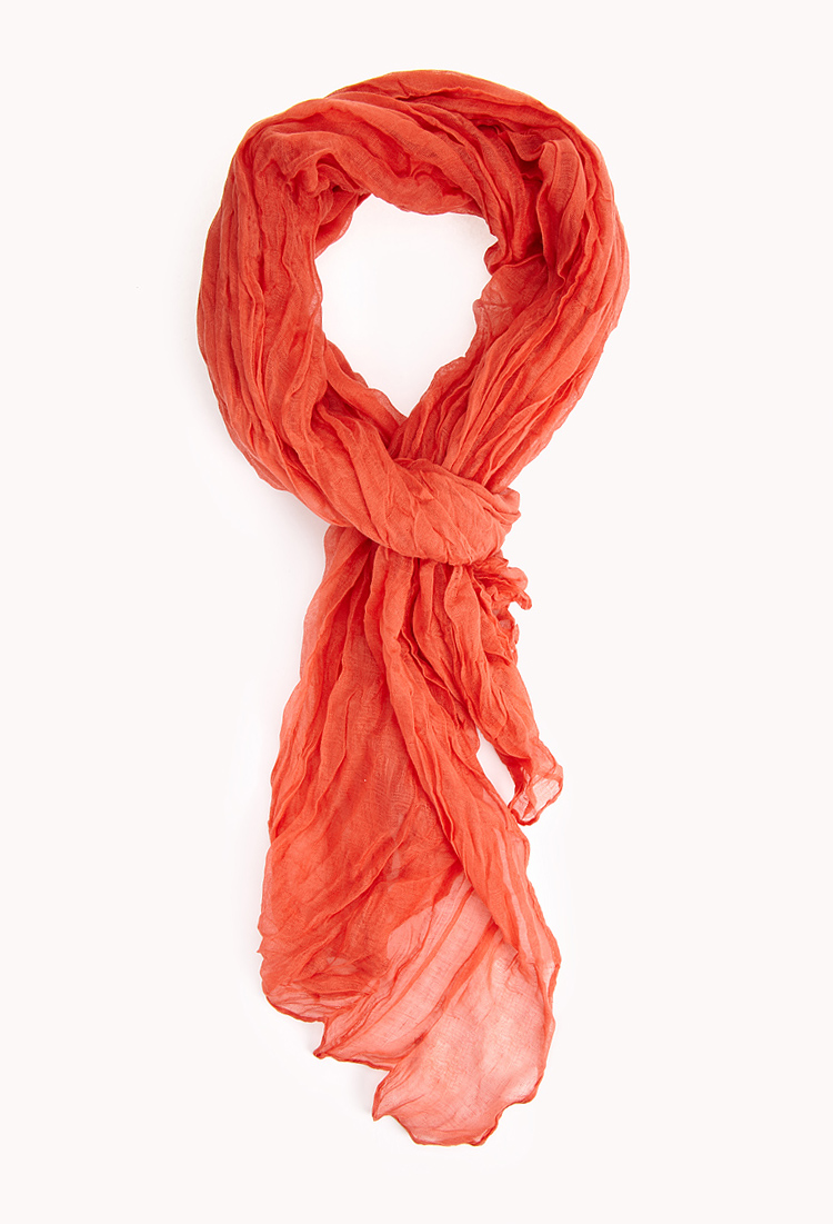 forever 21 laid back crinkled scarf you ve been added to