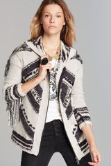 Free People Cardigan Show Me The Way Fringe - Lyst