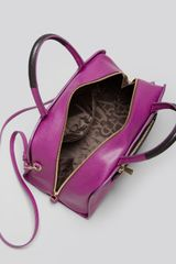 Furla Satchel Diamante in Purple (Bouganville/Onyx) - Lyst