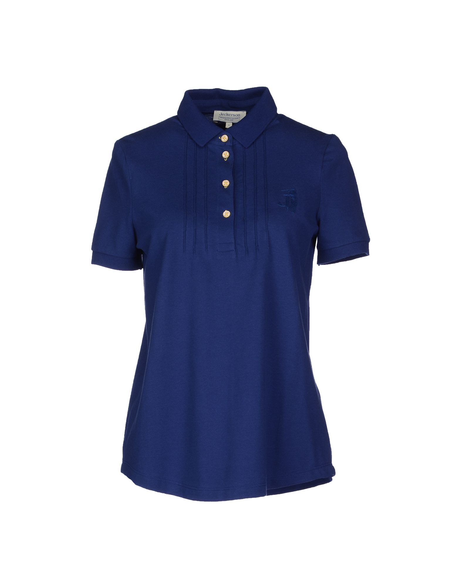 Dark brown and white polo T-shirt template using for fashion cloth design and assessorie for designer to make mock up or blue print in copany. T-shirt design - young man in blank dark blue polo shirt from front and rear isolated.
