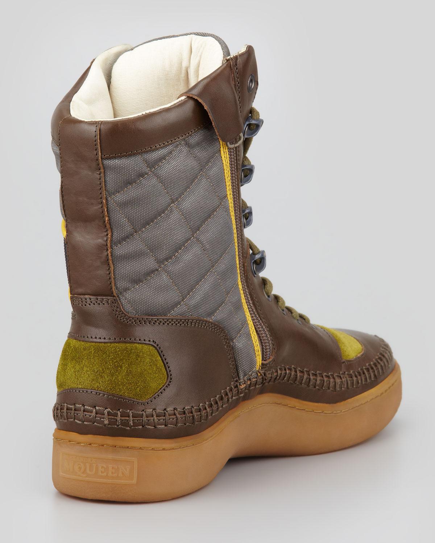 Lyst - Alexander McQueen X Puma Joust Boot Green Ash in Green for Men 3d898b0c2